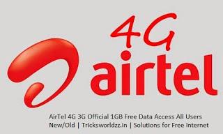 Airtel 3G 4G Free Internet Proxy Trick 2017