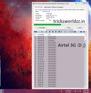 AirTel 3G Free Unlimited High Speed Internet Trick