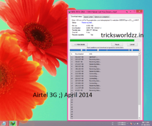 Airtel 3G New Trick For PC/Mobile Users Unlimited Internet