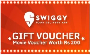 Swiggy Movie Voucher For Free Worth Rs 200