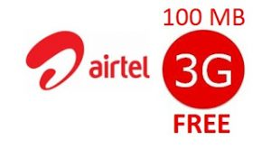 Trick to Get AirTel 3G Free Internet Data Official Offer