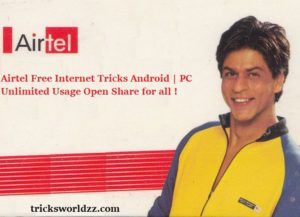 Airtel Free Internet Tricks Android | PC Unlimited