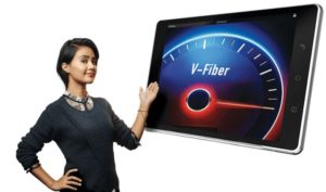 Airtel V-Fiber service Free Unlimited Internet + Voice Calls