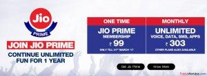 Jio Prime vs Non Jio Prime Membership Plans